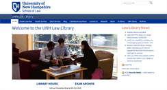 Preview of library.law.unh.edu