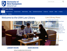 Tablet Preview of library.law.unh.edu